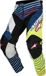 Alpinestars Racer Braap Pants Yellow Fluo/White/Dark Blue