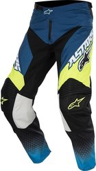 Alpinestars Racer Supermatic Pants Blue/Yellow 2017