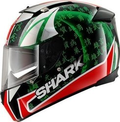 Shark Speed-R Sykes Black Red Green