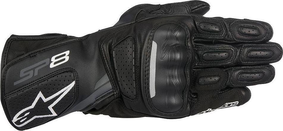 Alpinestars SP-8 V2 Leather Black Grey 55aa55570ca