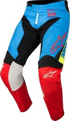 Alpinestars Racer Supermatic Pants Blue/Red 2018