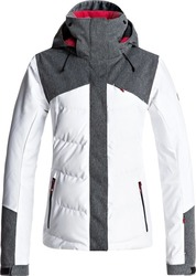 ROXY FLICKER Bright White Women Snow Jacket