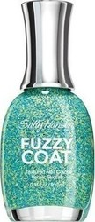 Sally Hansen Glitter Fuzzy Coat 500 Sea