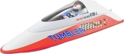 Volantex RC Tumbler Mini Racing Rc Boat RTR V796-1 Red