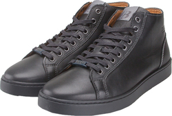 BOSS SHOES BOSS H19044 BLACK LEATHER