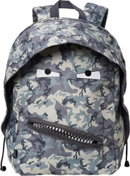 "Zipit ""Large Camo Gray and Dark Grey"" ZBPL-GR-N5"