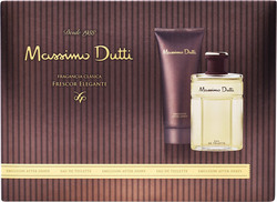 Massimo Dutti Eau De Toilette 100ml & After Shave Emulsion 100ml