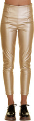 ADDLOFT SYNTHETIC LEATHER PANTS 95%POL 5%EL - 216-2024-GOLD