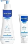 Mustela Hydra Bebe Body Lotion 300ml & Facial Cream 40ml 340ml
