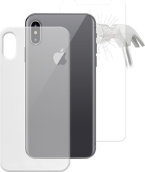 Puro Nude Διάφανο + Tempered Glass (iPhone X)