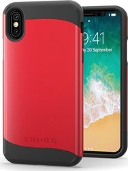 Snugg Infinity Back Cover Κόκκινο (iPhone X/Xs)