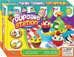 Kid's Toys Πλαστοζυμαράκια Dough Cupcake Station