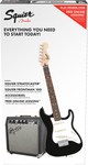 Squier Strat SS Pack for Beginners Black