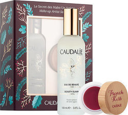 Caudalie Le Secret Des Make Up Artists Beauty Elixir & French Kiss Lip Balm