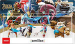 Nintendo Amiibo The Legend of Zelda Breath of the Wild - Champions Figures 4 Pack