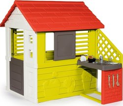 Smoby Nature Playhouse with Summer Kitchen