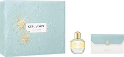 Elie Saab Girl of Now Eau de Parfum 50ml & Handbag