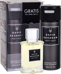 David Beckham Instinct Eau de Toilette 50ml & Deodorant Spray 150ml
