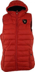 GEOGRAPHICAL NORWAY JACKET VEST VENEZIA WP613F ΚΟΚΚΙΝΟ