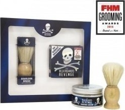 Bluebeards Revenge Shaving Cream 100ml & Doubloon Brush Kit