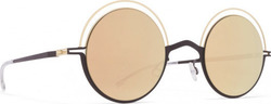 Mykita Bueno Champagne Gold / Ebony Brown