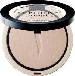 Sephora Collection Fond De Teint Mineral Compact Petale 21 R20 Clair 10gr