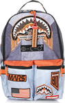 Sprayground Mission to Mars Shark Patches 910B1337NSZ