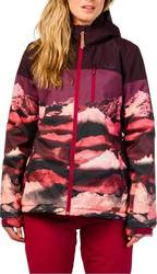 PROTEST FERNIE SNOW JACKET DARK LAVA