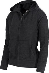 Body Action Zip Through Hooded Jacket 71307-Black
