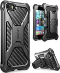 i-Blason Prime Heavy Duty Black Carbon (iPhone 5/5s/SE)