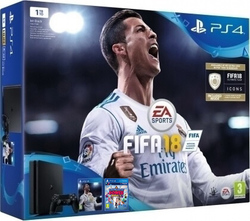 Sony Playstation 4 (PS4) Slim 1TB & Fifa 18 & Knowledge is Power