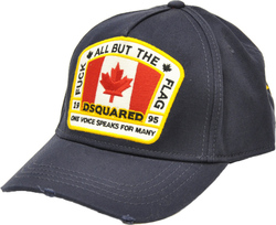 DSQUARED2 BASEBALL CAP BLUE