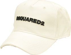 DSQUARED2 BASEBALL CAP WHITE