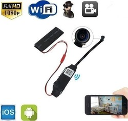OEM WiFi IP Micro Module SD DVR Spy Cam