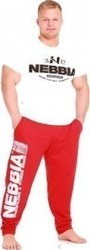 Nebbia 310 HardCore Fitness Sweatpants Red