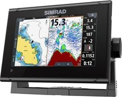 Simrad GO7 XSR with Basemap