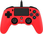 Nacon Wired Compact Controller Red