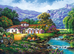 Hacienda By The Stream 3000pcs (33051) Trefl