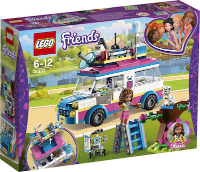 Lego Friends: Olivia's Mission Vehicle 41333