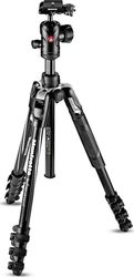 Manfrotto Befree Advanced Aluminum Travel MKBFRLA4BK-BH Τρίποδο - Φωτογραφικό