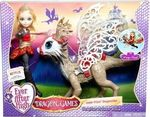 Mattel Ever After High Dragon Games Apple White Doll & Braebyrn Dragon