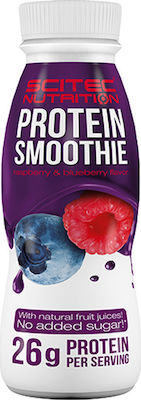 Scitec Nutrition Protein Smoothie 330ml Rasberry Blueberry