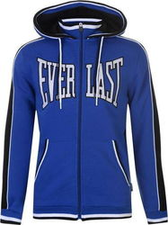 Everlast Large Logo Zip Hoody 536035 Royal