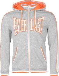 Everlast Large Logo Zip Hoody 536035 Grey Marl