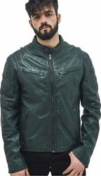 Riley 2 Leather Jacket GREEN (M0009478.ER)