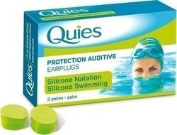 Quies Silicone Earplugs 3τμχ