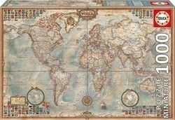 Map of The World 1000pcs (16764) Educa