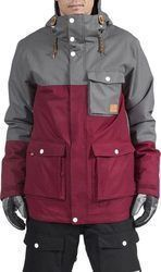 WEARCOLOUR HORIZON SNOW JACKET BURGUNDY