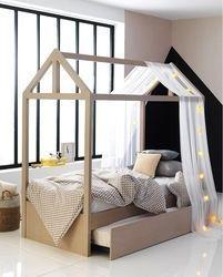 c24b04db8 Little House Κουκέτα Μπεζ με Συρόμενο Κρεβάτι
