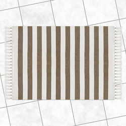 Lino Πατάκι Μπάνιου 50x80 Ruler Taupe